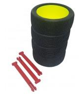 Organizador de ruedas en Rojo