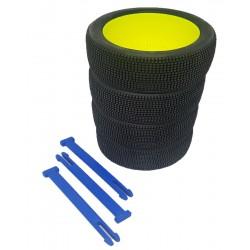 Organizador de ruedas en Azul