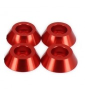 Shock absorber support washer Red