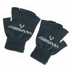 Black Half Finger Gloves