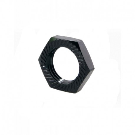 Wheel nut 17mm (4 pieces) Black