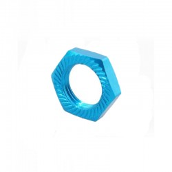 Wheel nut 17mm (4 pieces) Sky Blue