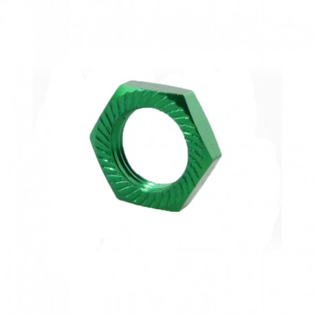 Wheel nut 17mm (4 pieces) Green