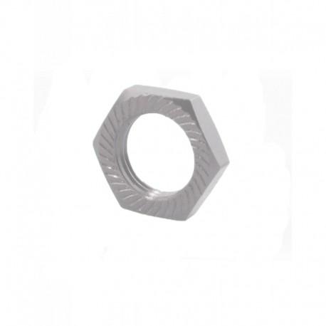 Wheel nut 17mm (4 pieces) Silver