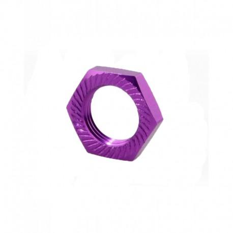 Wheel nut 17mm (4 pieces) Purple