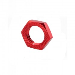 Wheel nut 17mm (4 pieces) Red