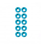 M3 countersunk washer Sky Blue