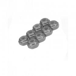 Wheel lock nut M3 Sylver