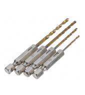 Precision drill bits