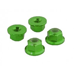 Self-locking nut with base M3 Green