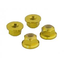 Self-locking nut with base M3 Gold