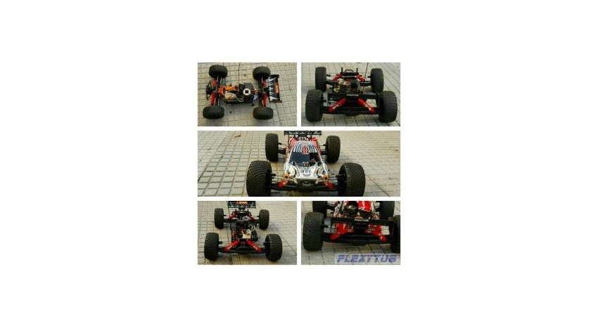 Red Hpi-Racing 1/8 Trophy Truggy